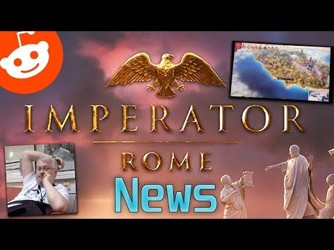 Imperator: Rome News - Reddit AMA | Some Gameplay Surfaced (linked) | New Interview (linked)