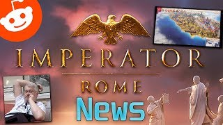 Imperator: Rome News - Reddit AMA   Some Gameplay Surfaced (linked)   New Interview (linked)