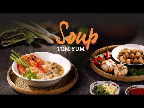 Hướng dẫn nấu Súp Tom Yum Thái chuẩn vị siêu ngon   Hướng Nghiệp Á Âu