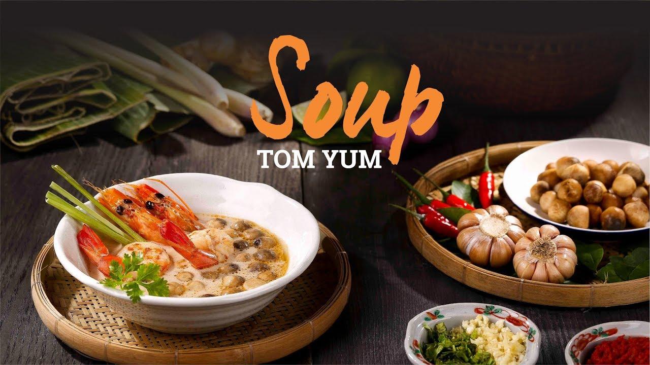 Hướng dẫn nấu Súp Tom Yum Thái chuẩn vị siêu ngon | Hướng Nghiệp Á Âu