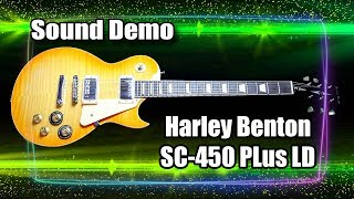 Demo Harley Benton (SC450 Plus LD)