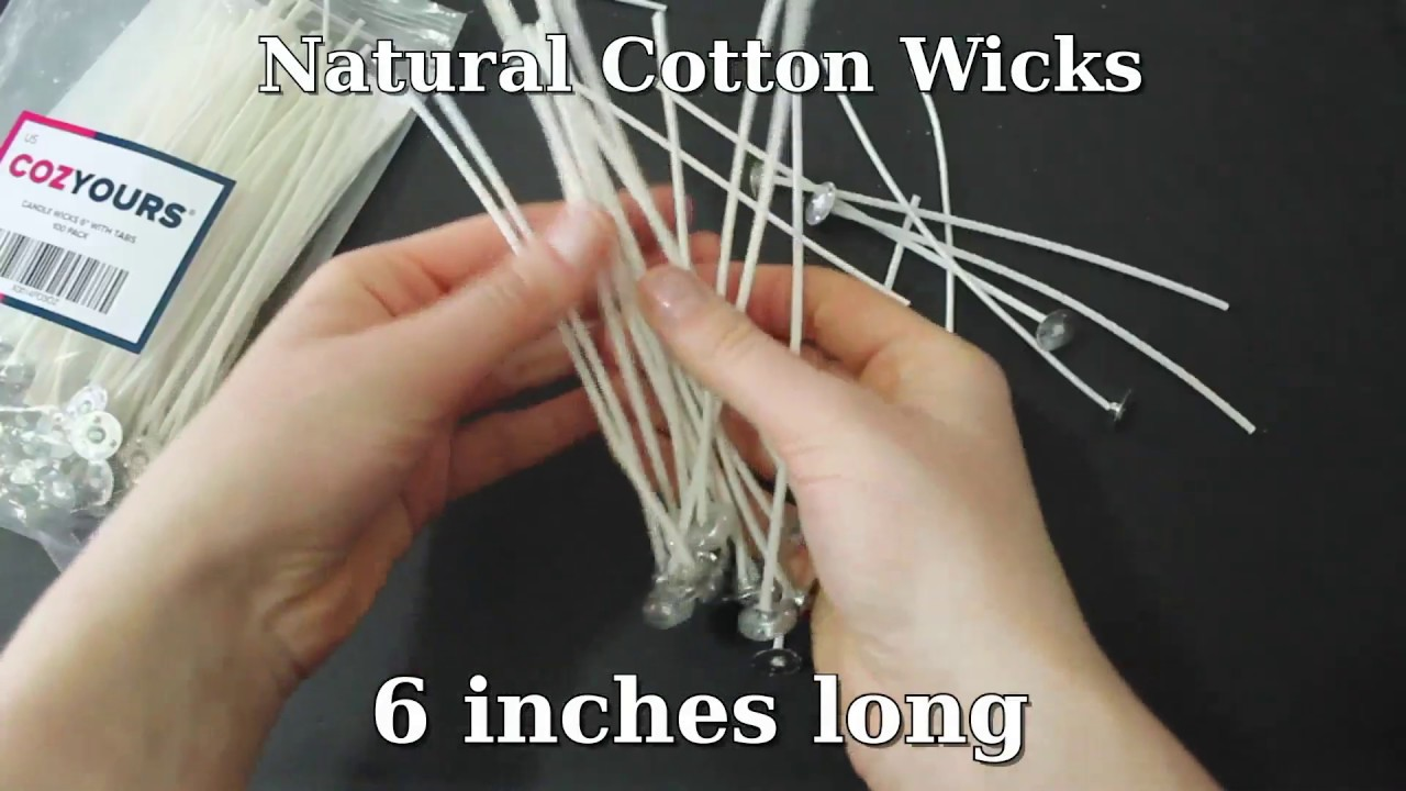 Cotton Candle Wicks for Votive and Container Candles