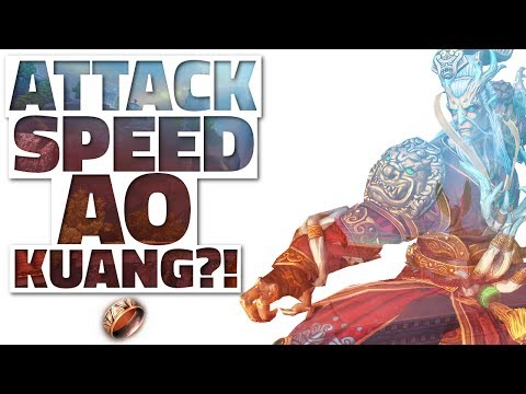 Is ATTACK SPEED Ao Kuang BACK?! [SMITE] - Basic Attack Ao Kuang Build