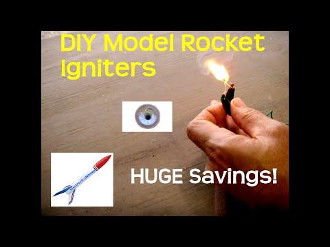 DIY Model Rocket Igniters For PENNIES Each!