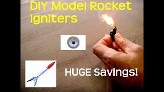 Diy Model Rocket Igniters For Pennies Each