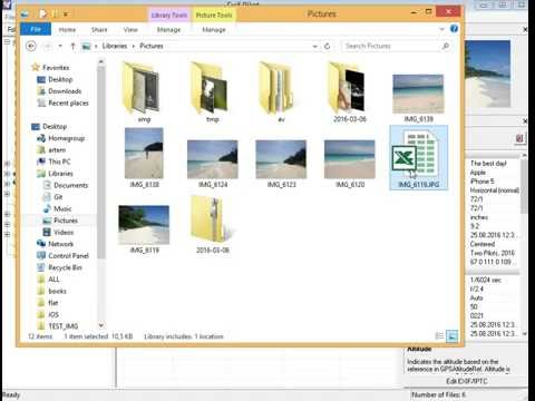 How to make template export EXIF, IPTC, XMP metadata to Excel file using Exif Pilot