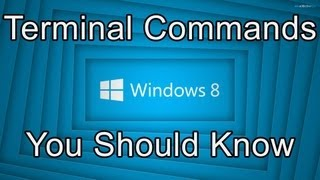 top 5 windows 8 command prompt commands you should know