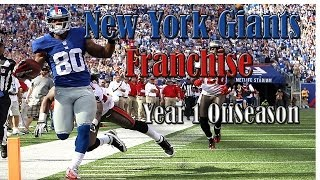 Madden 25 New York Giants Franchise: Year 1 Off Season