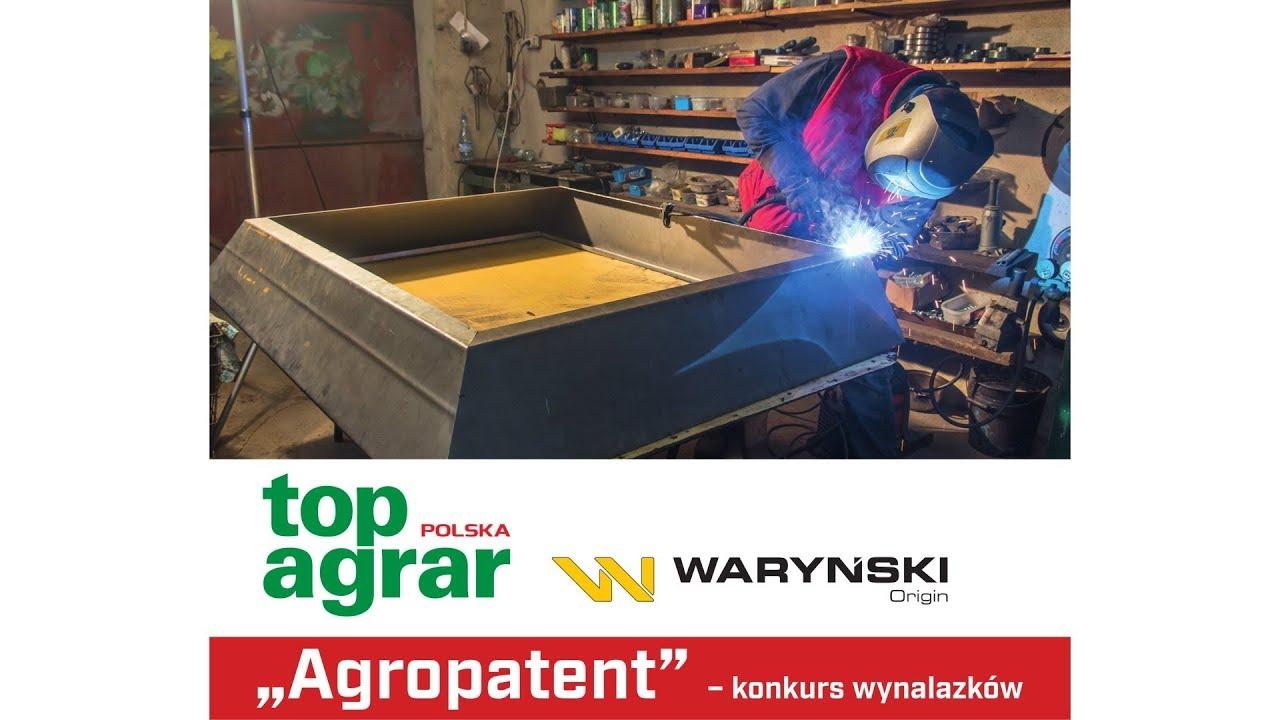 Agropatent: rozstrzygnięcie konkursu wynalazków – top agrar Polska i Waryński Origin