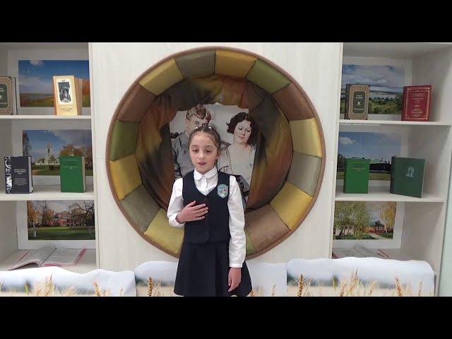 Изображение предпросмотра прочтения – «МАОУ СОШ 94 города Тюмени» читают произведение «Разбуди меня завтра рано…» С.А.Есенина