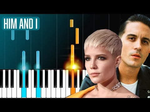 "G-Eazy & Halsey - ""Him & I"" Piano Tutorial - Chords - How To Play - Cover"