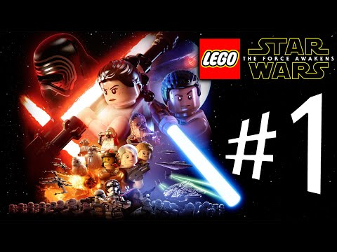 Lego Star Wars The Force Awakens - Parte 1: A Força Despertou! [ Playstation 4 - Playthrough ]