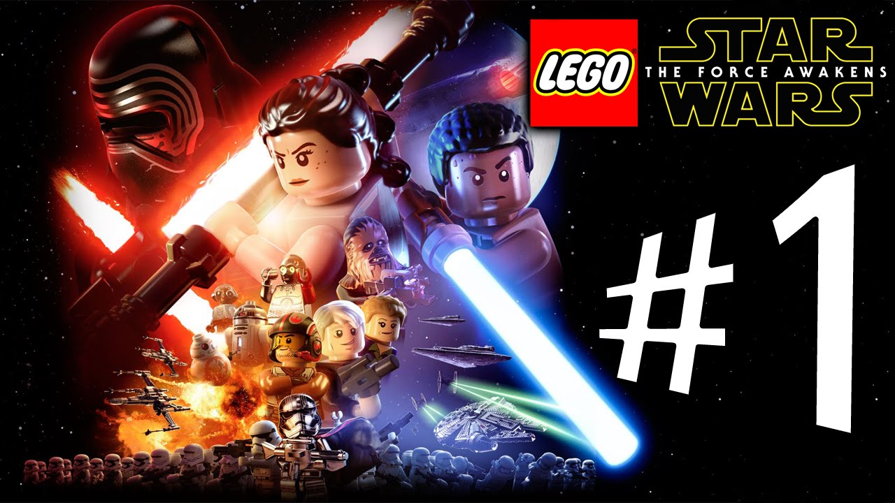 Lego star wars the force awakens parte 1 a for a - Lego star wars 1 2 3 4 5 6 ...