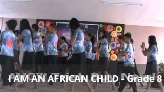 I am an African Child - Grade 8 @ Poetry Tea Party