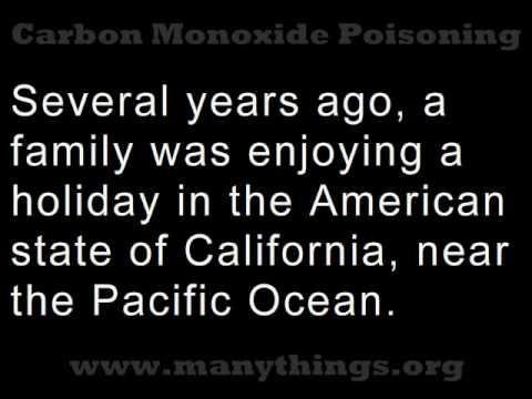 Carbon Monoxide Poisoning (Listen and Read Along)
