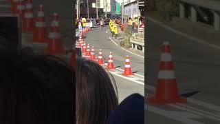 箱根駅伝2018 平塚中継所 駒大 工藤有生選手