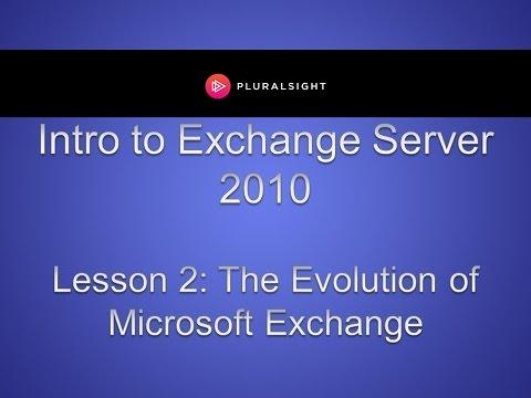 The Evolution of Microsoft Exchange