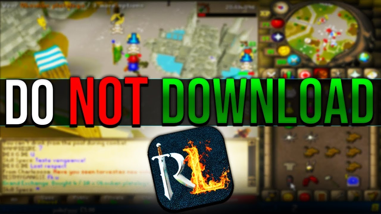 Do NOT Download RuneLite Here, HCIM Account Takes A Chance, Rev Caves BGS  Bug OSRS