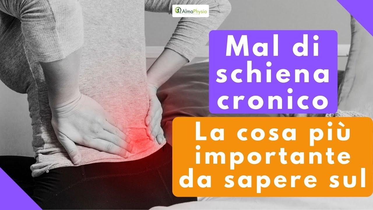 In caso di mal di schiena