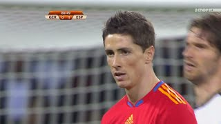 Fernando Torres vs Germany (World Cup 2010) HD 720p