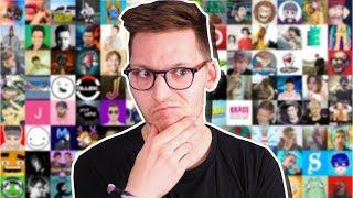 Deutsche Youtuber bewerten - Meine Tierlist