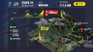 EN VIVO: Siga la etapa 14 del Tour de Francia
