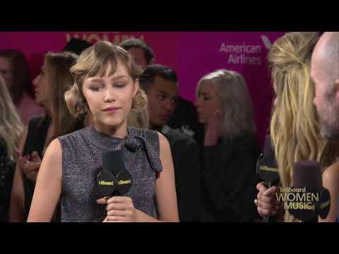 Grace VanderWaal - BillBoard Women in Music Award Red Carpet Interview
