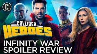 Avengers: Infinity War Spoiler Review - Heroes