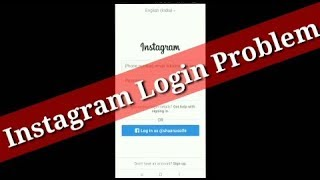 How To Fix Instagram Login Error Issue Problem Solve || And Report Login Problem