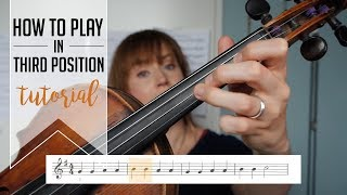 How to play in third position on the violin | WITH PRINTABLE EXERCISES