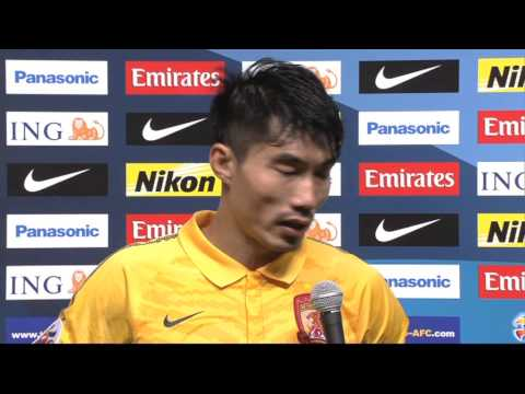 Interview: Zheng Zhi captain, Guangzhou Evergrande : AFC Champions League 2013 Final 1st Leg
