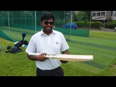 Introducing Srinath - bowling to Chris in the Nets!