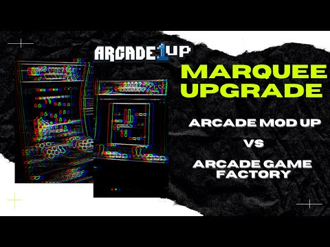 Arcade 1Up Space Invaders Marquee Upgrade - Arcade Game Factory from Rob Young