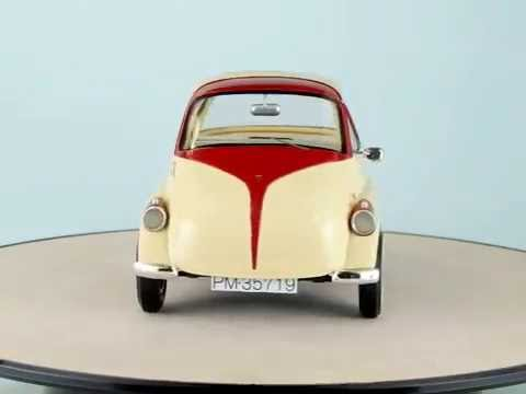 schuco 1 18 iso isetta youtube. Black Bedroom Furniture Sets. Home Design Ideas