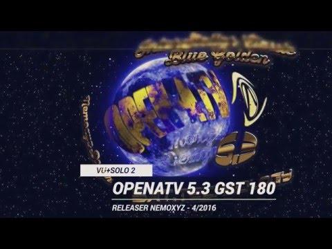 Backup Vu+Solo2 OpenATV 5.3 [GST 180]