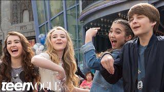 Rowan, Sabrina, and Their Friends Learn to Draw at Disney California Adventure   Besties