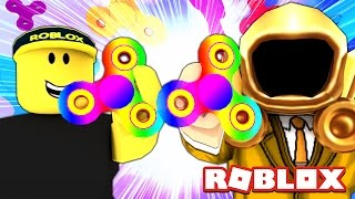 CRAZY FIDGET SPINNERS IN ROBLOX!!!