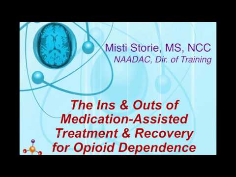 The Ins & Outs of Medication Assisted Treatment and Recovery for Opioid Dependence