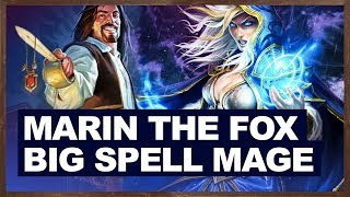 Marin The Fox In Big Spell Mage | The Witchwood Hearthstone