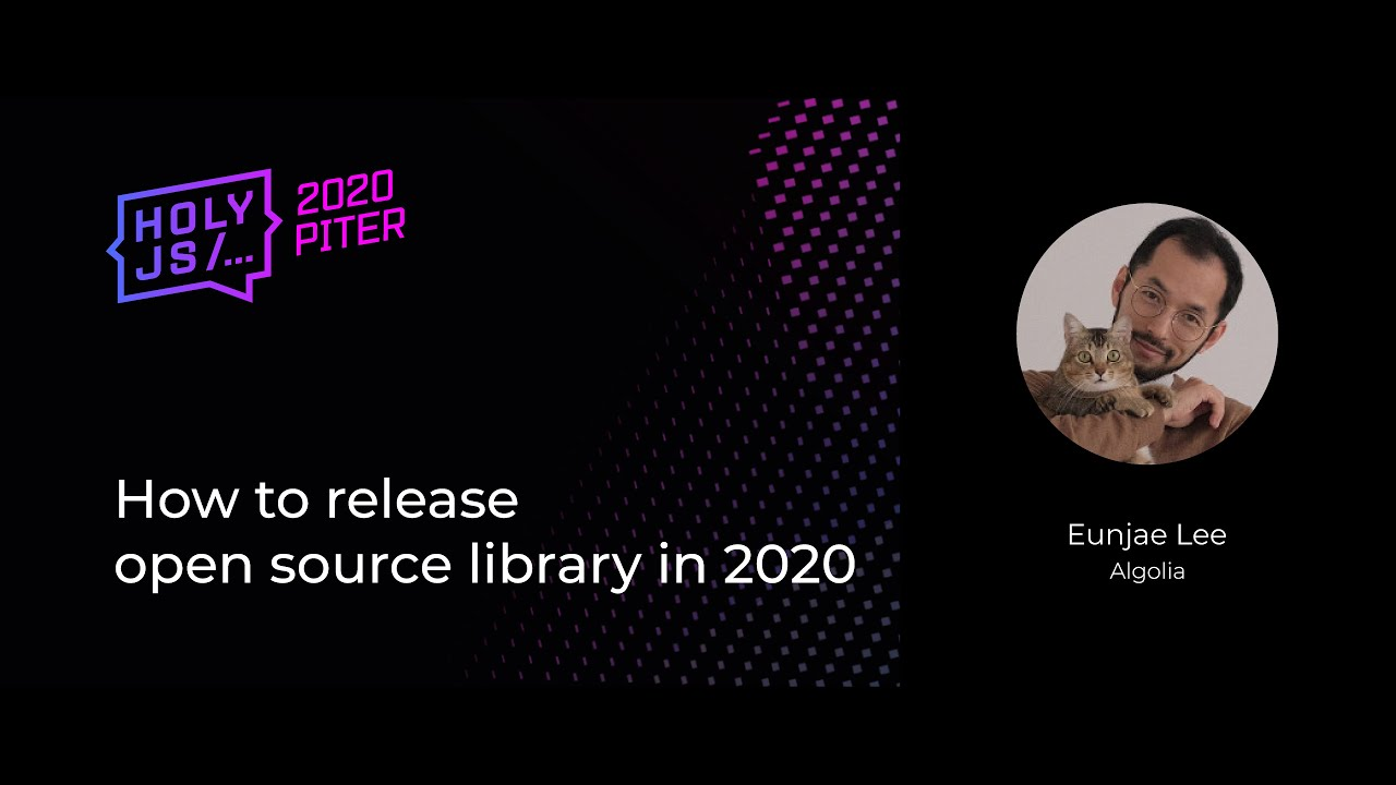 How to Release Open Source Library in 2020