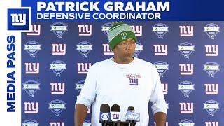 Patrick Graham on Challenge of Facing Rams | New York Giants