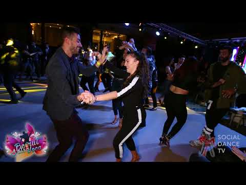 Panagiotis Aglamisis &  Yaiza Melero - Salsa social dancing | Beirut Salsa Loca 2018