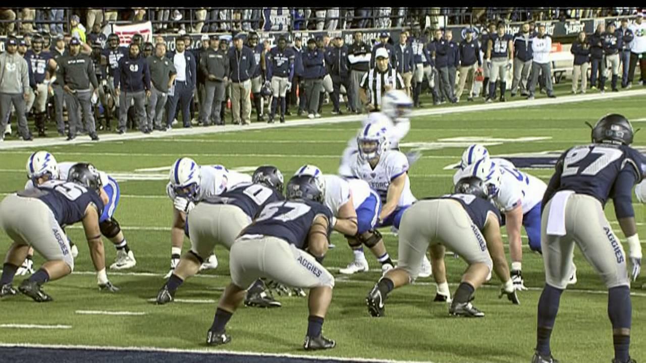 Highlights NCAA Football Air Force Falcons vs Utah State ...