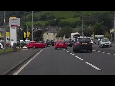 Accident Almost Caused on A82