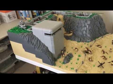 Lego MOC D-Day Normandy Landing