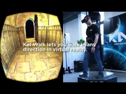 Omnidirectional VR Treadmill
