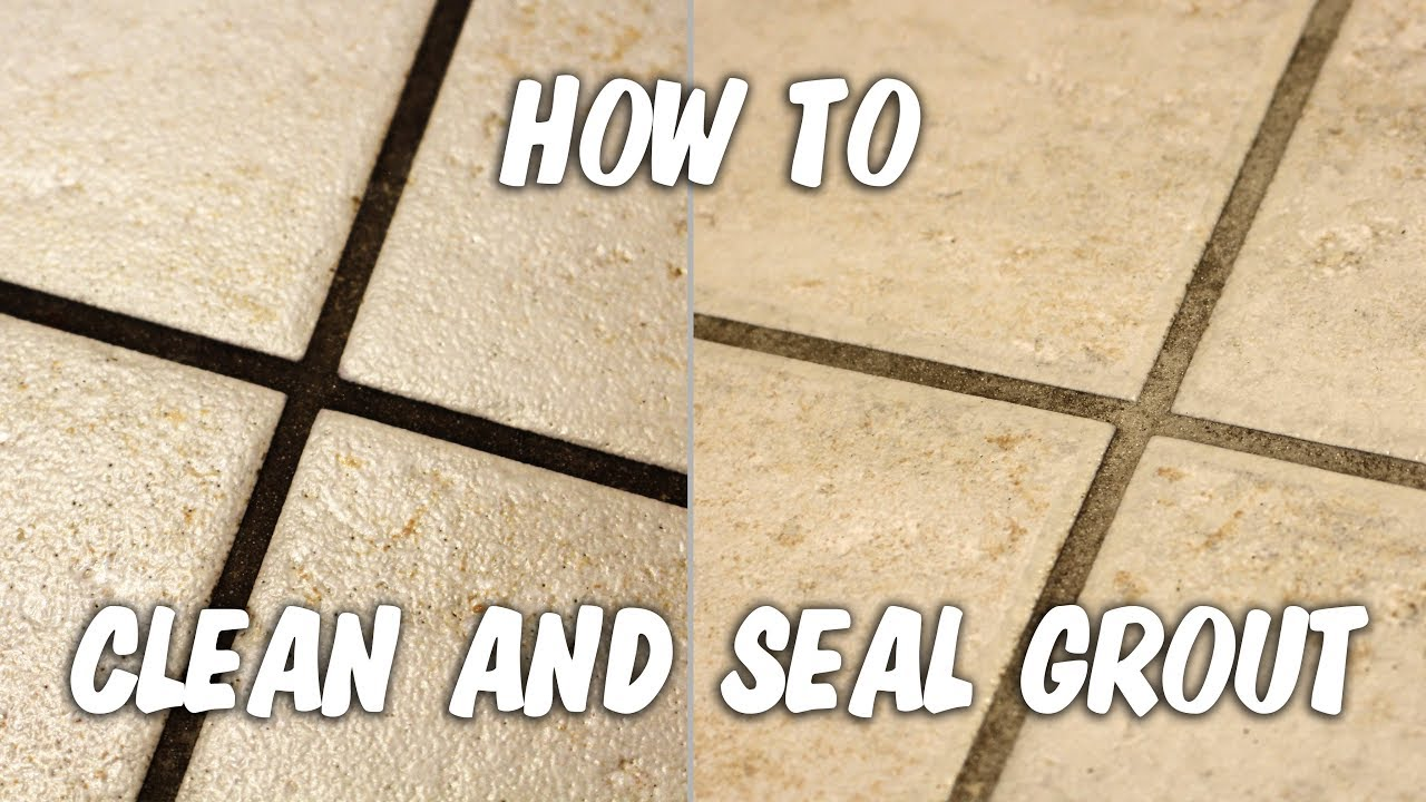 Kitchen Grout Cleaning And Sealing YouTube - Clean and reseal grout