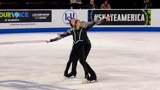 Произвольная программа. Пары. Skate America. Гран-при по фигурному катанию 2019/20