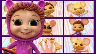 Finger Family Mice   Baby Joy Joy   The Finger Family Song