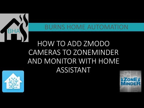 How to add Zmodo cameras to Zoneminder and monitor with Home Assistant